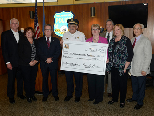 Police Foundation Check Presentation