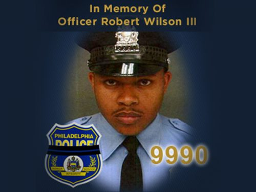 Memorial Photo of Officer Wilson