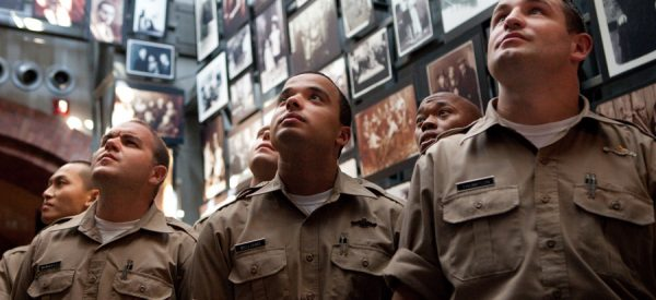 Police Officers visiting the Holocaust Museum